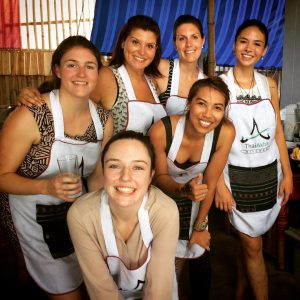 Cook with your heart.. Happy faces at Thai Akha Kitchen