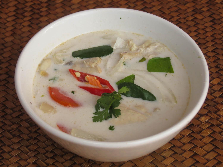 Thai Akha Kitchen - Chicken in Coconut Milk
