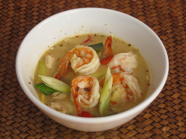 Thai Akha Kitchen - Hot and Sour Prawn Sooup