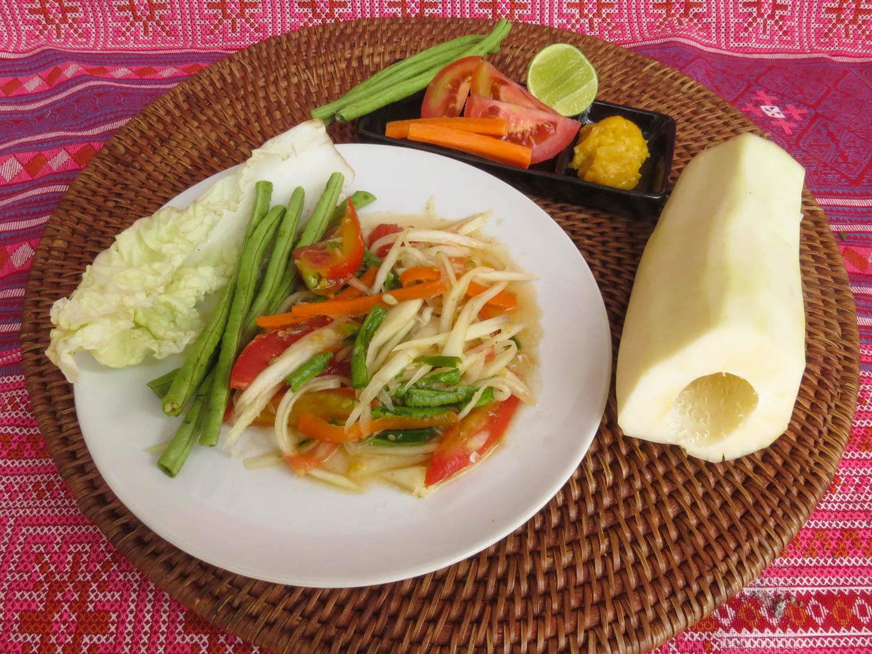 Thai Akha Kitchen - Papaya Salad