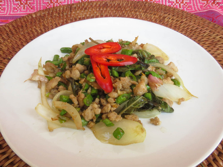 Thai Akha Kitchen - Chicken with Hot Basil