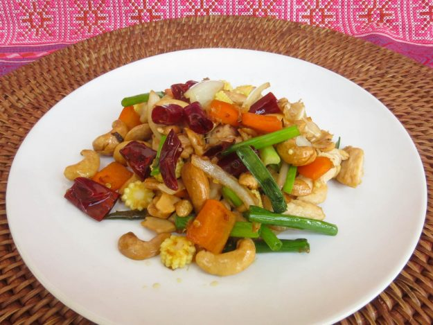 Thai Akha Kitchen - Cashew Nut with Chicken