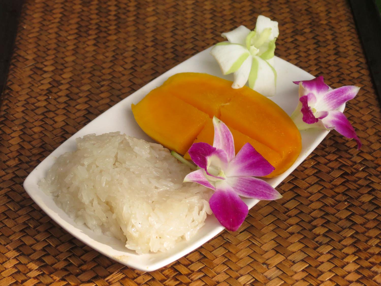 Thai Akha Kitchen - Mango with Sticky Rice