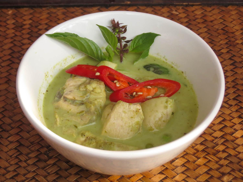 Thai Akha Kitchen - Chicken Green Curry