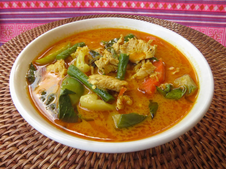 Thai Akha Kitchen - Chicken Red Curry