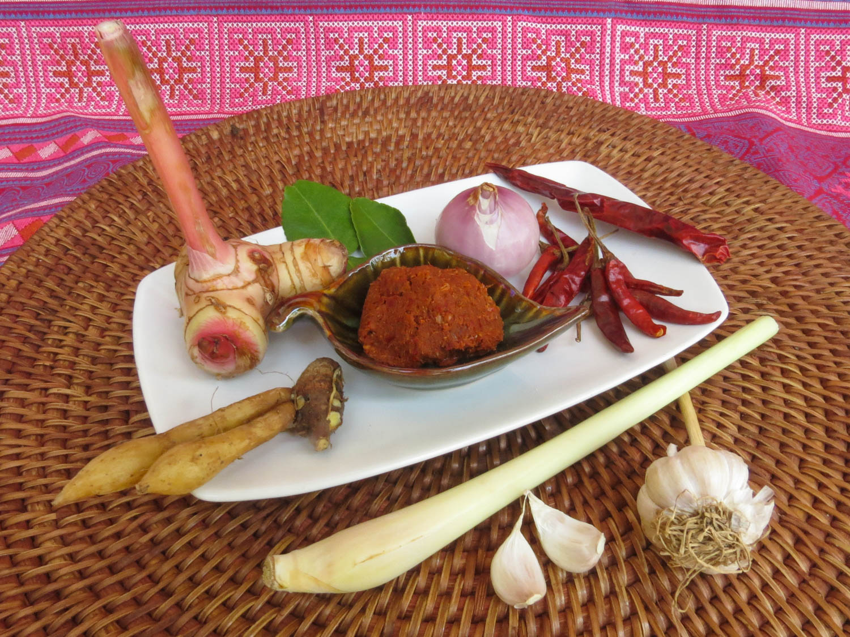 Thai Akha Kitchen - Red Curry Paste