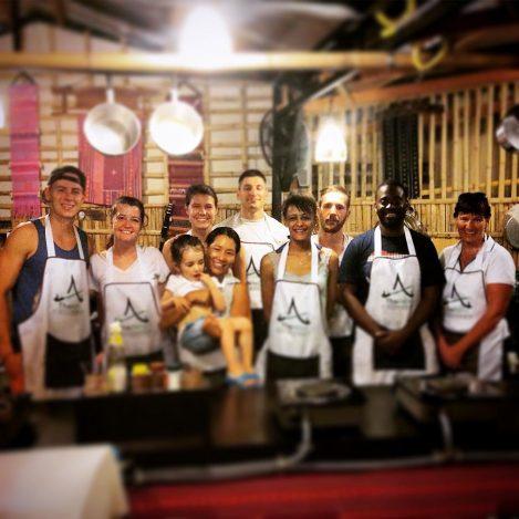 Fun Evening Class at Thai Akha Kitchen