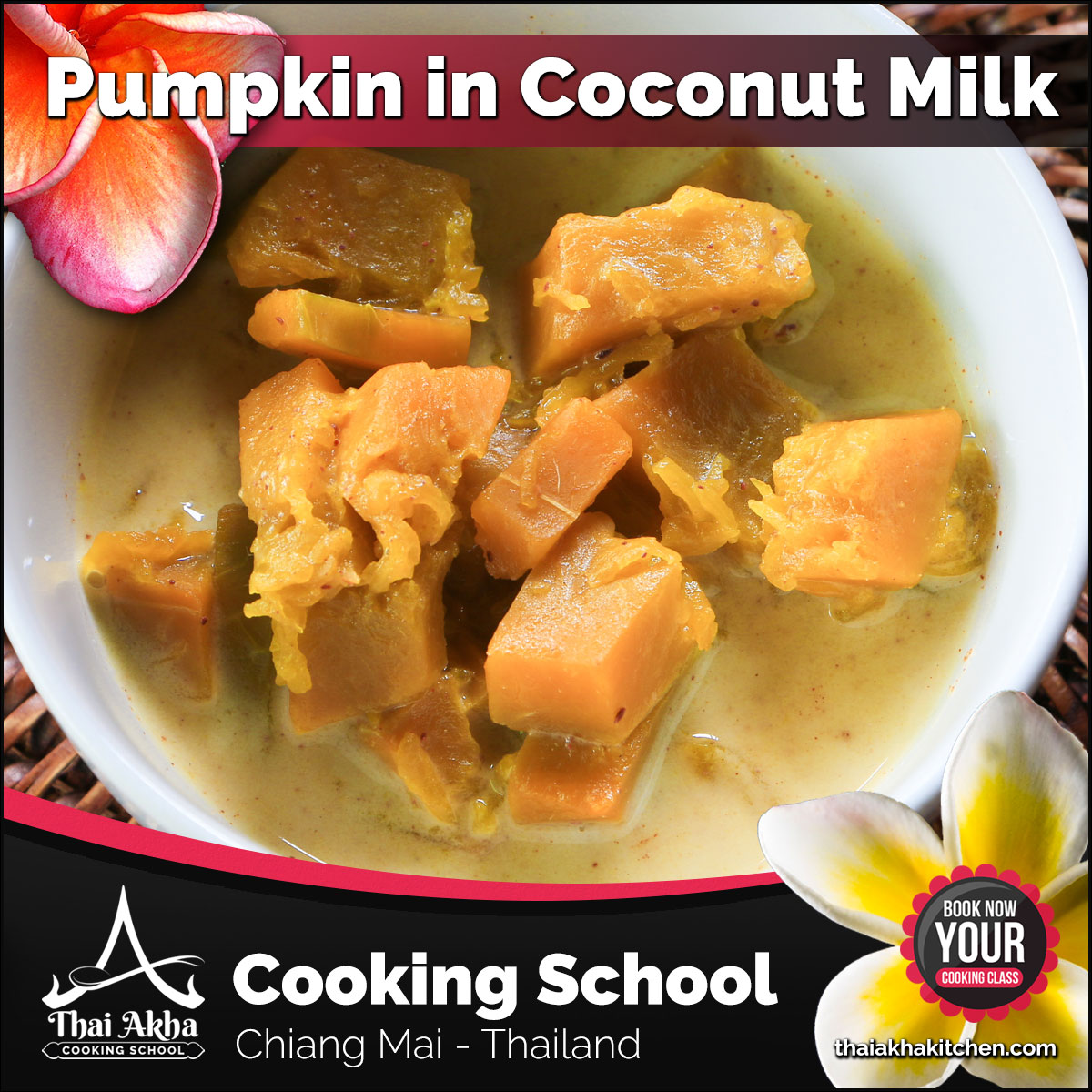 Pumpkin in Coconut Milk - Thai Akha Kitchen