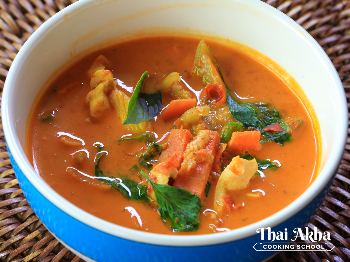 Thai Akha Kitchen - Chicken Red Curry