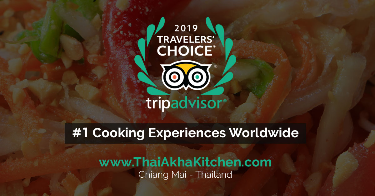 Tripadvisor 2019 Choice Winner - Thai Akha Kitchen - Cooking School - Chiang Mai