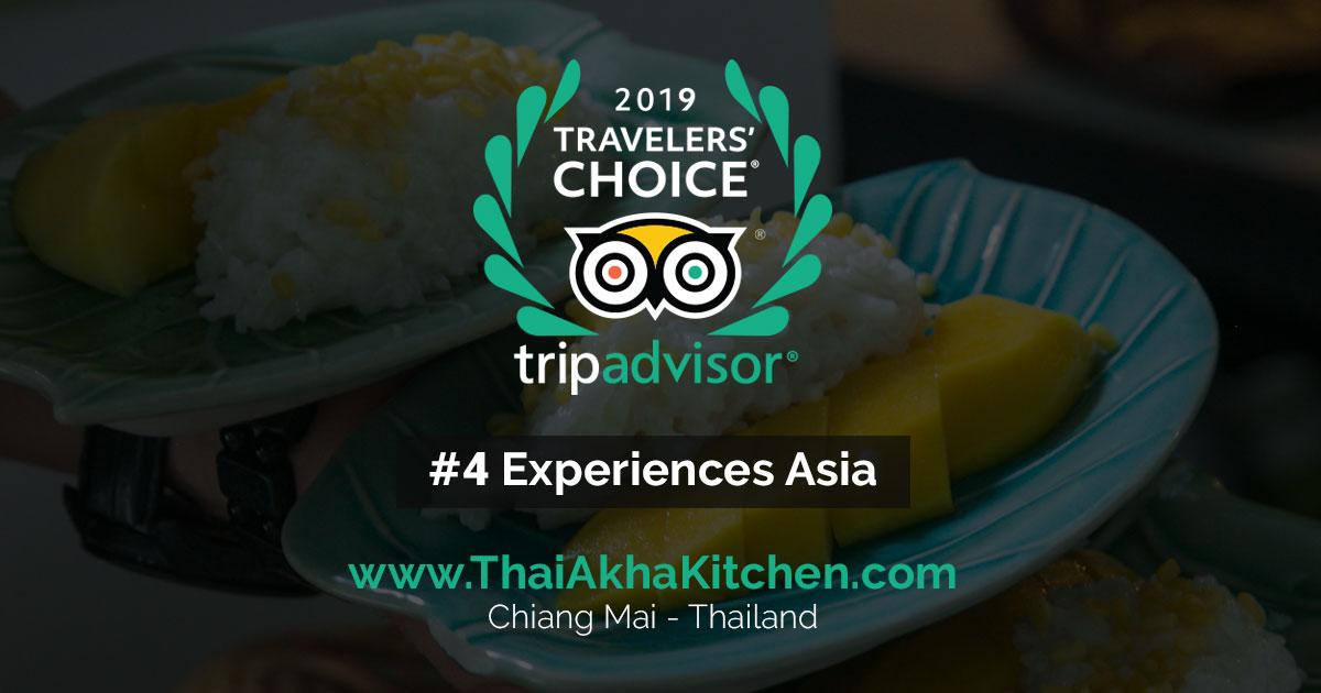 Tripadvisor 2019 Choice Winner - Thai Akha Kitchen - Cooking School - Chiang Mai